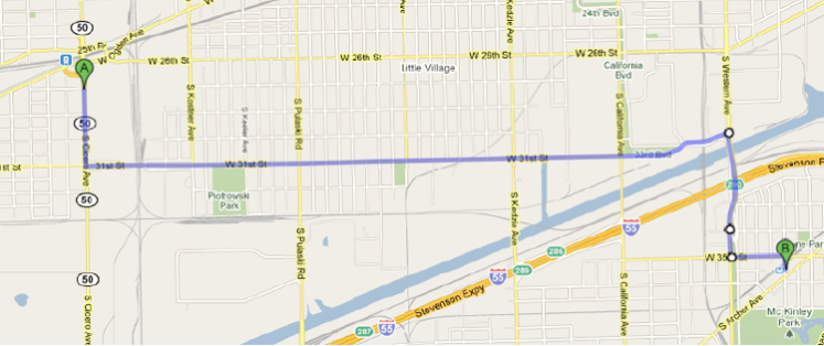31st St. Bus Route (Proposed)