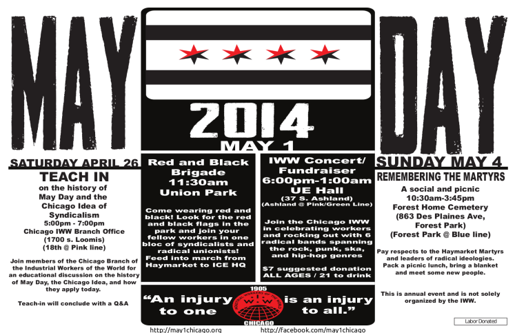 May Day events