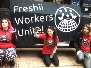 freshii workers banner