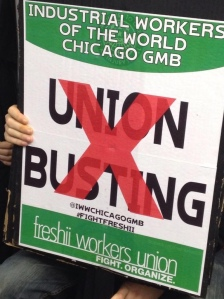 no union busting sign